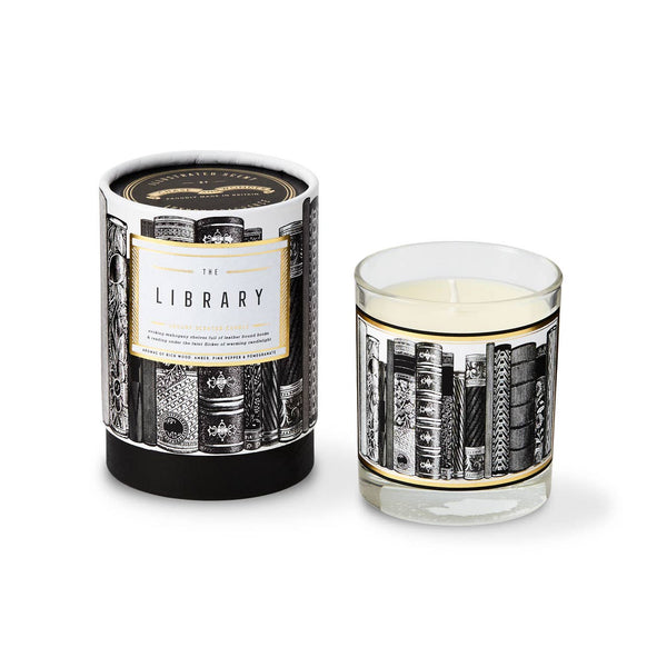 Chase and Wonder The Library Glass Luxury Scented Candle | Avie Collection
