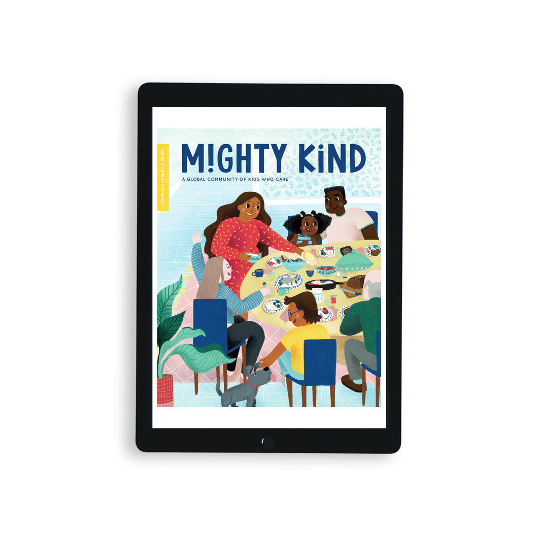 Digital Mighty Kind Issue 3: Breaking Bread