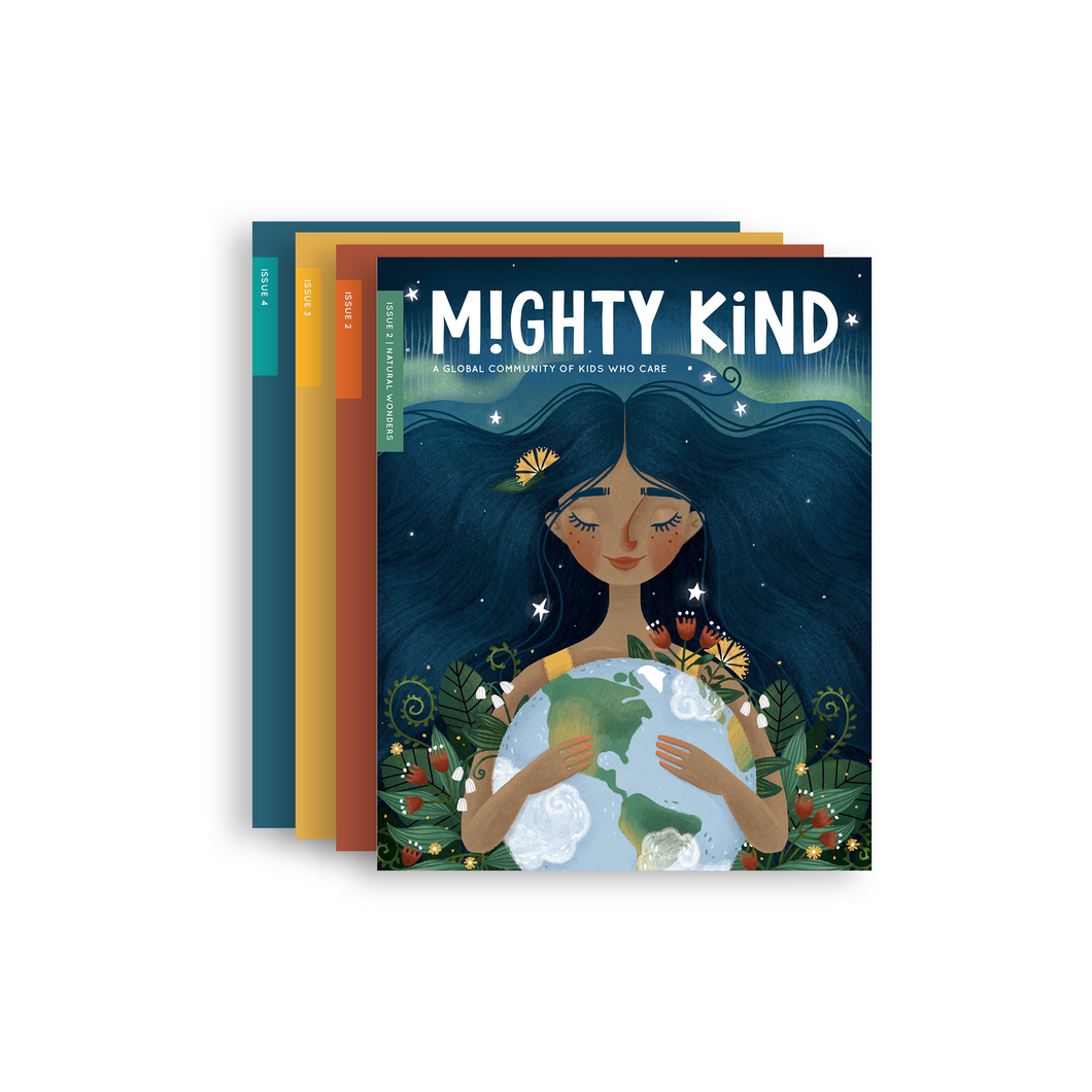1 Year Mighty Kind Magazine Subscription (Starting with Issue 2: Natural Wonders)