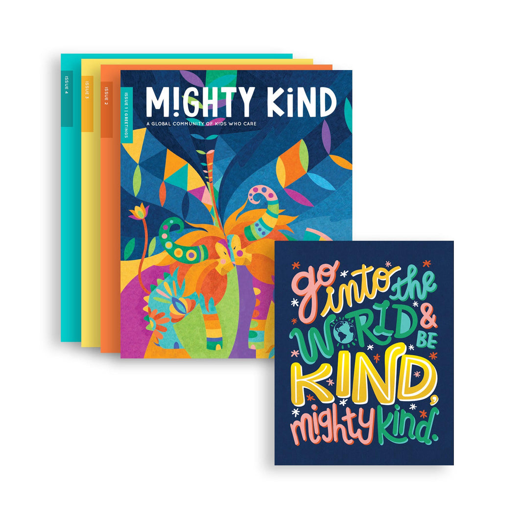 1 Year Mighty Kind Magazine Subscription + Printable Poster