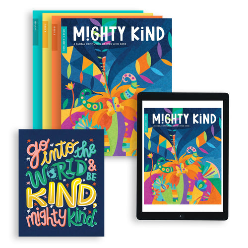 1 Year Mighty Kind Magazine Subscription Bundle