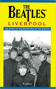 Front cover of The Beatles' Liverpool featuring a photo of the fab four.
