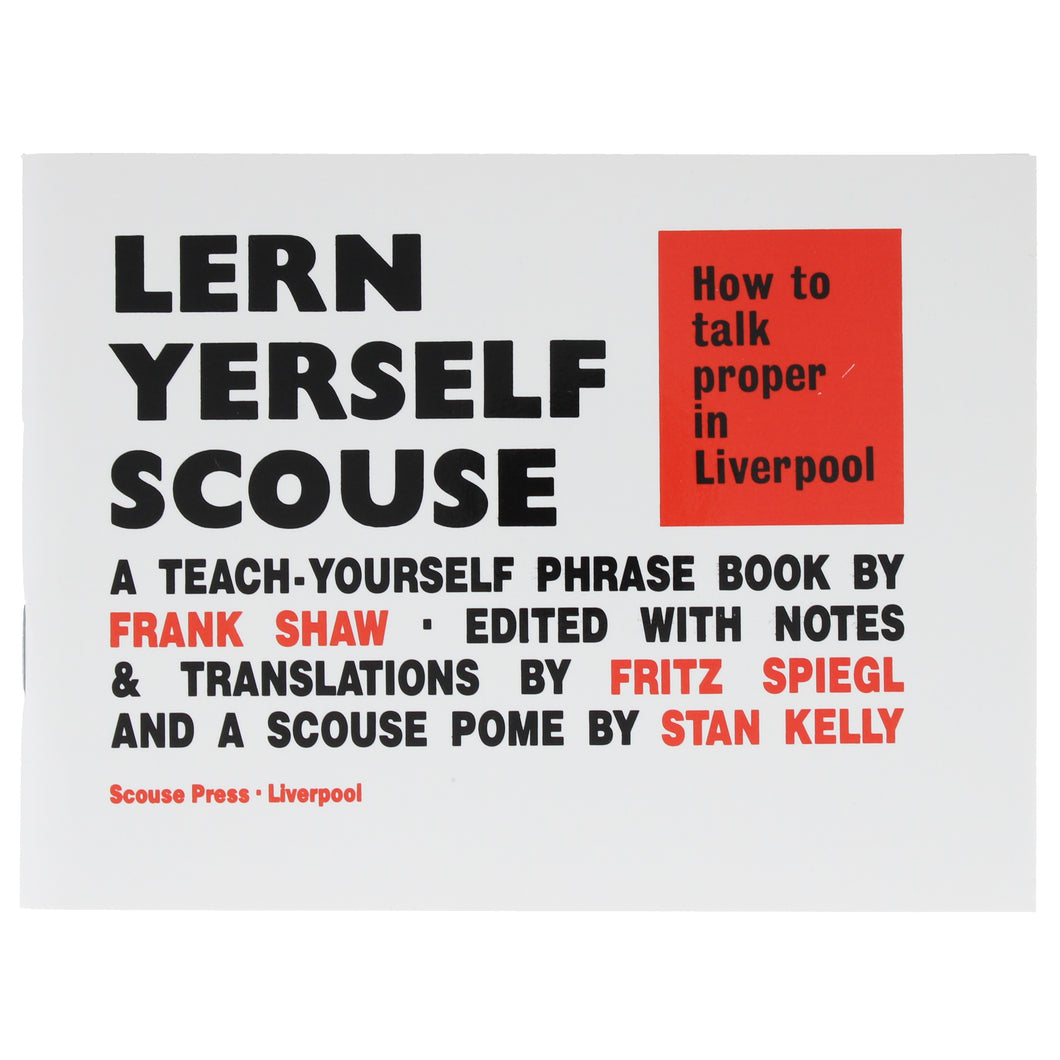 Front cover of Lern yerself scouse book
