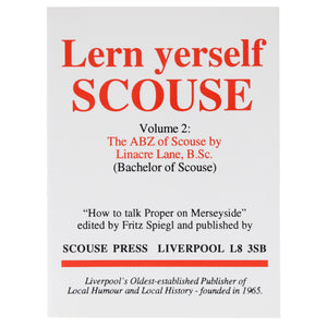 Front cover of Lern Yerself Scouse volume 2.
