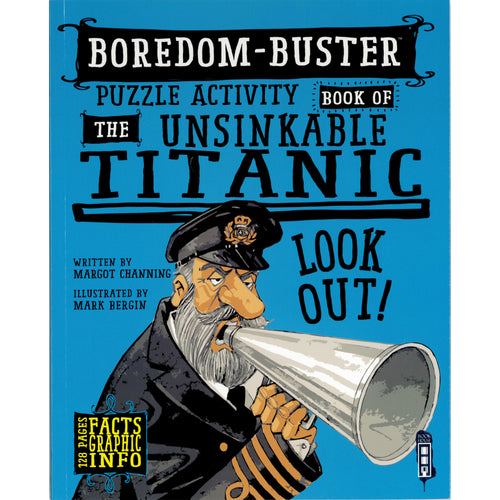 Puzzle Activity Book of the Unsinkable Titanic
