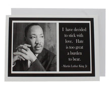 Load image into Gallery viewer, Quote Martin Luther King Jr Greeting Card