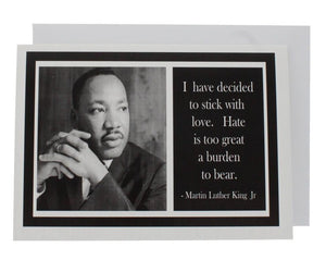 Quote Martin Luther King Jr Greeting Card