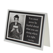 Load image into Gallery viewer, Quote Rosa Parks Greeting Card
