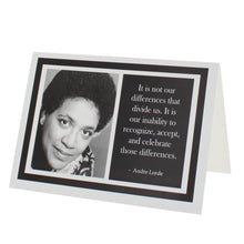 Load image into Gallery viewer, Quote Audre Lorde Greeting Card