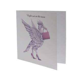 Night Out on the Town Greeting Card