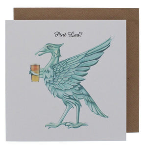 Pint Lad Greeting Card