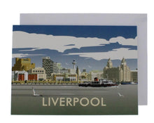 Load image into Gallery viewer, Dave Thompson Liverpool Skyline Card
