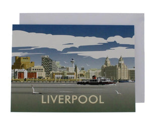 Dave Thompson Liverpool Skyline Card