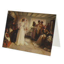 Load image into Gallery viewer, The Wedding Morning Greeting Card