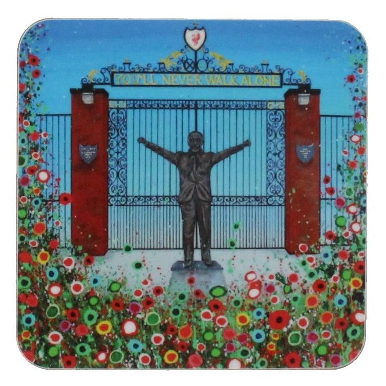 Floral LFC Shankly Gates Coaster