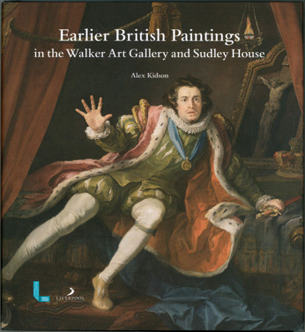 Front cover of Earlier British Paintings from the Walker Art Gallery and Sudley House book, featuring an oil painting of a man in splendid robes.