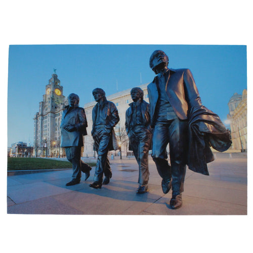 The Beatles Statue Canvas