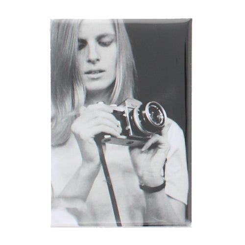 Linda with Camera Magnet