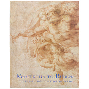 Front cover of Mantegna to Rubens, featuring a preparatory sketch showing a man surrounded by cherubs.