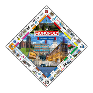 Liverpool Monopoly Board Game