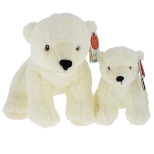 Plush KeelEco Polar Bear - National Museums Liverpool Shop
