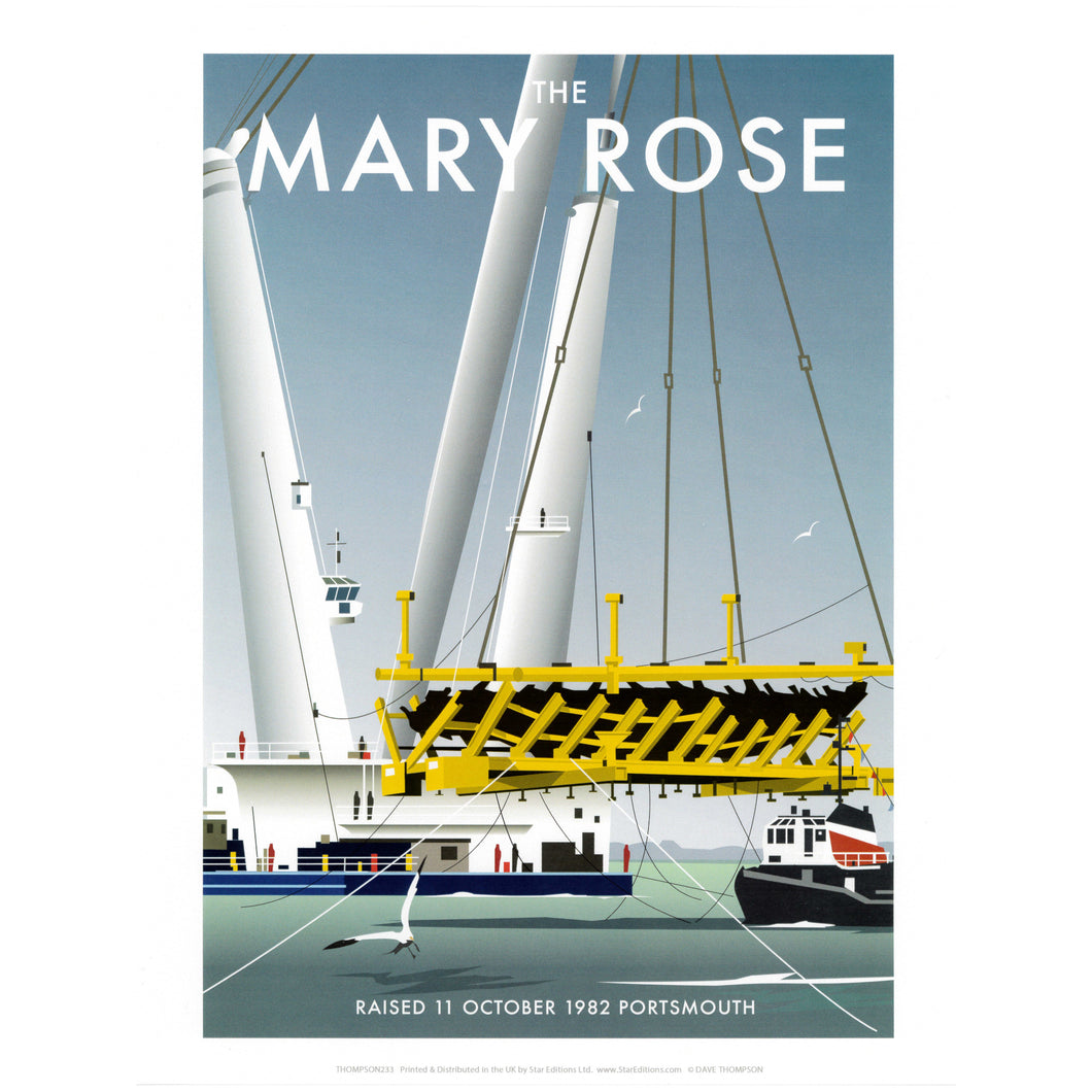 The Mary Rose Print