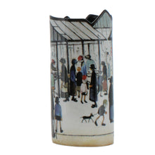 Load image into Gallery viewer, Market Scene, Lowry Vase