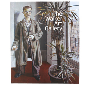 Front cover of the official guide to the Walker Art Gallery, featuring a painting from their collection.
