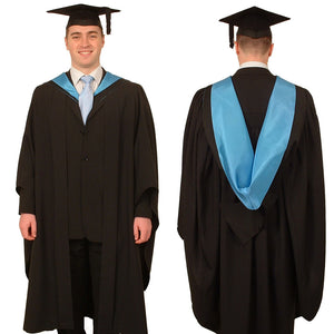 Graduation gown and mortarboard - hire