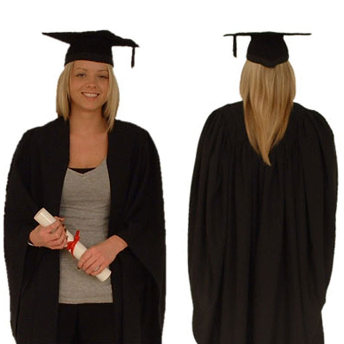 Graduation gown and hat buy online