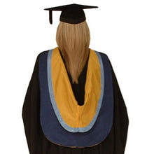 Load image into Gallery viewer, Haprer Adams University Bachelor Graduation Gown Hire