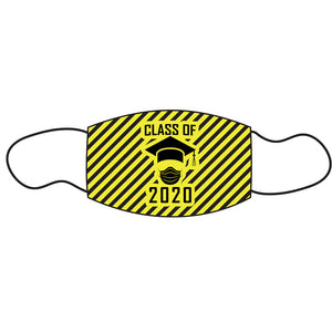 Graduate Facemask - yellow/black