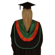 Load image into Gallery viewer, Aberystwyth University Bachelor Graduation Gown Hire - back