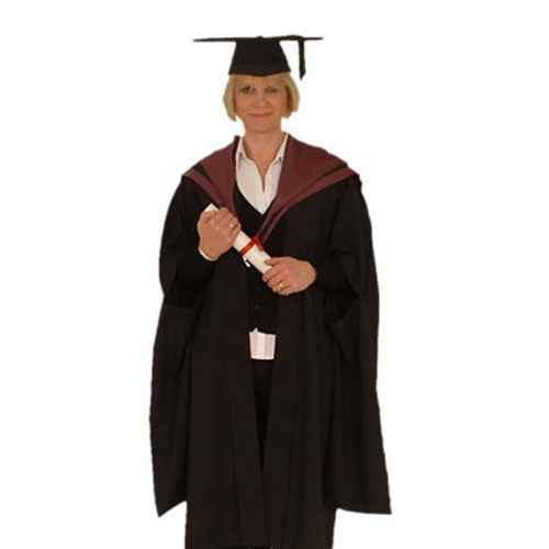 Master Gown Hire - Plymouth Marjon University