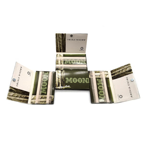 Unbleached Double Window with Magnet - 20 Booklets - Short Size Rolling Papers – 2000 Leaves 70*36mm