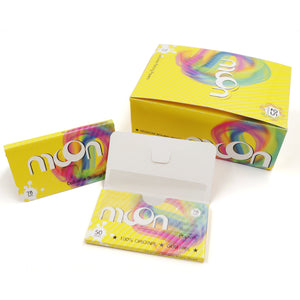 25 Booklets 1 1/4 Cellulose Rolling Papers, 78*44mm, for Fashion Lover