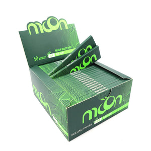 50 Booklets King Size, 108*44mm, Pure Hemp Rolling Papers 1600 Leaves, Product Video Inside, You May Follow Us on Instagram to Win This Whole Box By Free