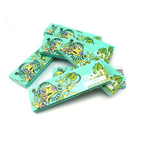 20 Booklets Short Size, 70*36mm, Finest Flavor Rolling Papers 1000 Leaves, Mint