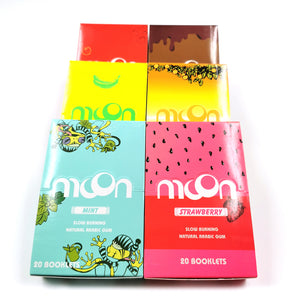 120 Booklets Short Size, 70*36mm, Finest Flavor Rolling Papers 6000 Leaves, 6 Flavors in Total