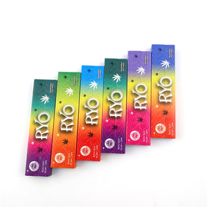 King Size Ultra-Thin Transparent Rolling Papers with Tips - 24 Booklets