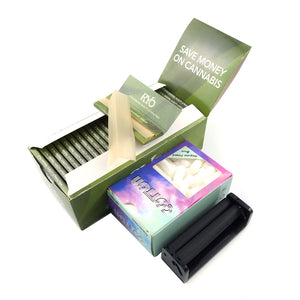 2500 Leaves 70*36mm Rolling Paper + 1 70mm Rolling Machine in  7 Options