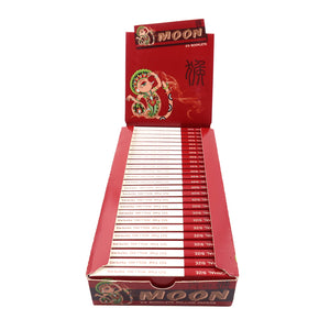 Chinese Monkey 25 Booklets Short Size, 70*36mm, Ultra Thin Tobacco Rolling Paper 25*50 Leaves