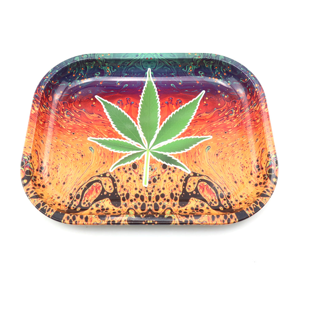 Small Rolling Tray 180mm * 140mm * 15mm MOON Brand 4 Colors Available