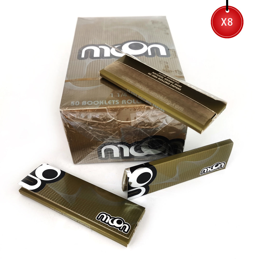 320 Booklets 1 1/4, 77*44mm, Wood Rolling Papers 16000 Leaves