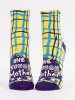 BLUE Q ONE TOUGH MOTHER ANKLE SOCKS