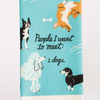 BLUE Q PEOPLE TO MEET: DOGS DISH TOWEL