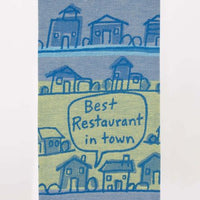 BEST RESTAURANT IN TOWN DISHTOWEL