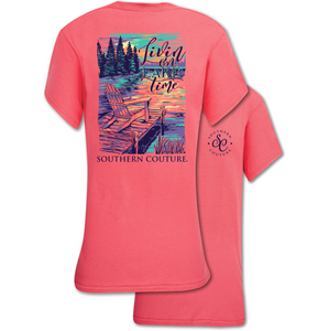 LIVIN ON LAKE TIME TSHIRT