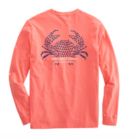 Crab Stamp Long Sleeve