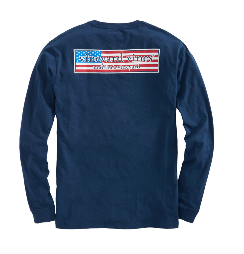 Patriot Box Long Sleeve